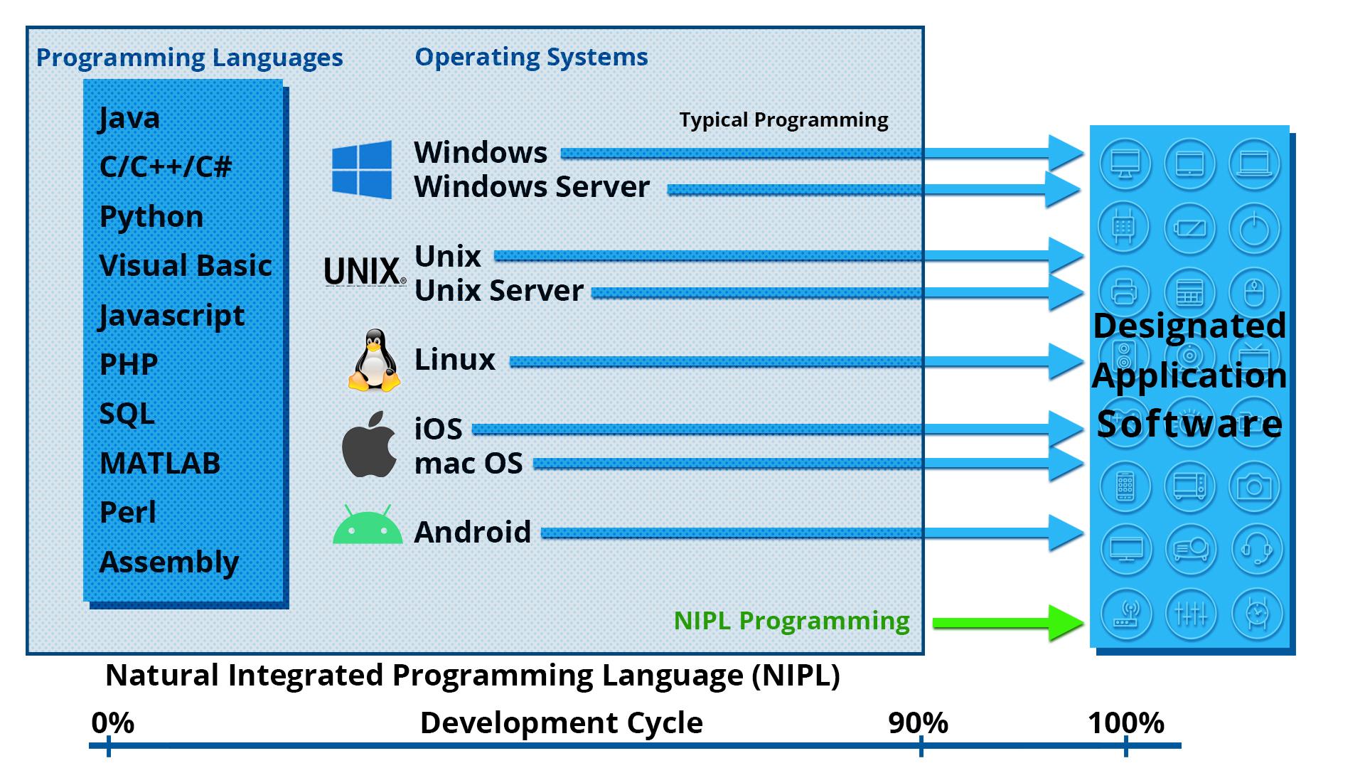 NIPL InfoGraphic NIPL vs. Usual Programming Time